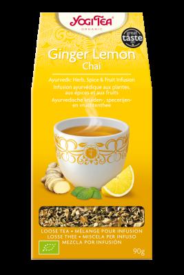 Ginger Lemon Chai Yogi Tea (Ingveri sidruni tee)