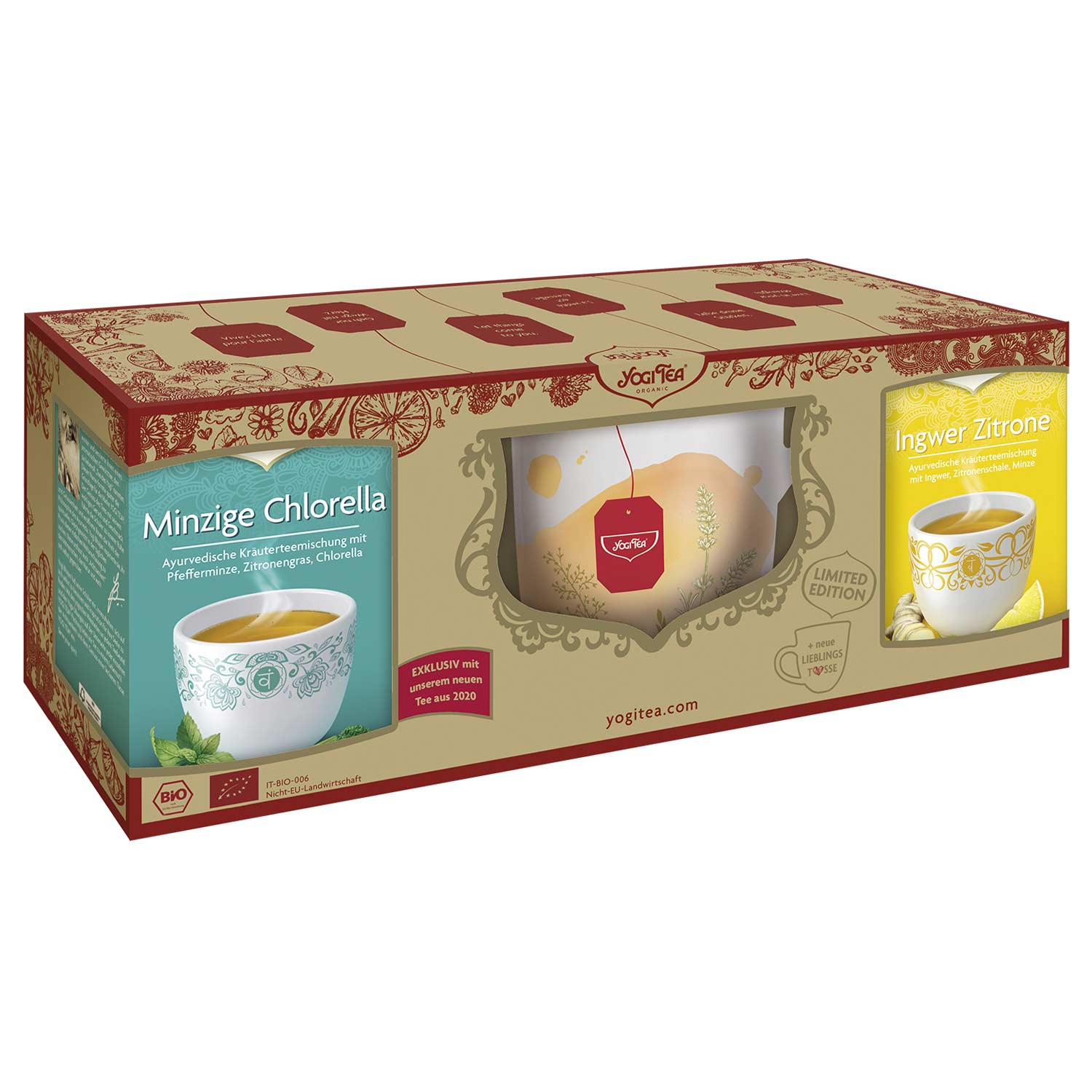 "Yogi Tea Gift Set ""Feel Good Moments"" (Kinkekomplekt)"