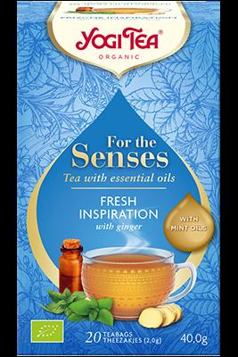 Fresh Inspiration Yogi Tea (Värske inspiratsiooni tee)