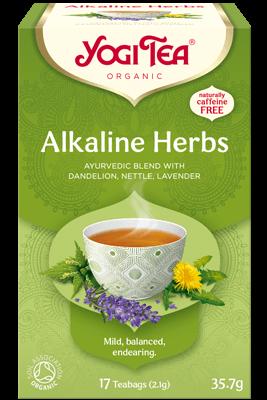 Alkaline Herbs Yogi Tea (Aluseliste taimede tee)