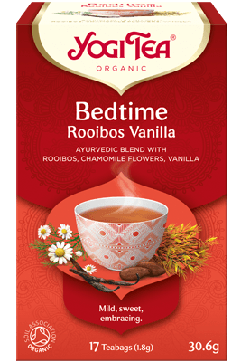 Bedtime Rooibos Vanilla Yogi Tea organic