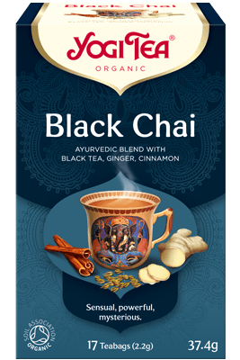 Black Chai Yogi Tea organic
