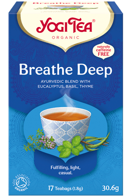 Breathe Deep Yogi Tea organic