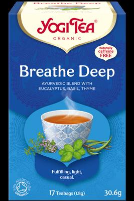 Breathe Deep Yogi Tea (Sügava hingamise tee)