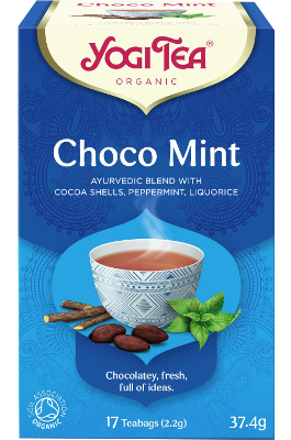 Choco Mint Yogi Tea (Kakao ja mündi tee)