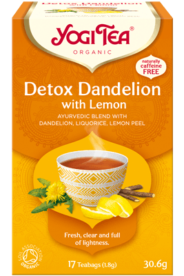 Detox with Lemon Yogi Tea (Sidruniga puhastav tee)