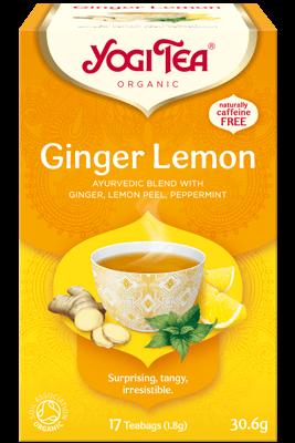 Ginger Lemon Yogi Tea organic