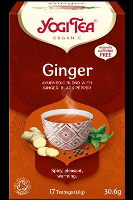 Ginger Yogi Tea organic
