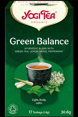 Green Balance Yogi Tea (Roheline tasakaalutee)