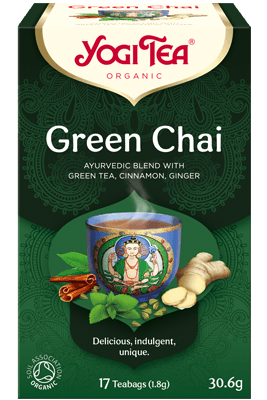 Green Chai Yogi Tea organic