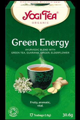 Green Energy Yogi Tea (Roheline energia tee)