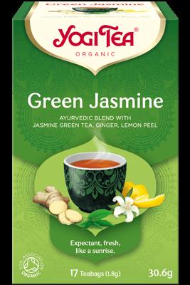 Green Jasmine Yogi Tea organic