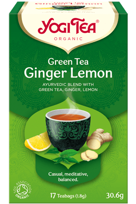 Green Tea Ginger Lemon Yogi Tea (Roheline tee ingveri ja sidruniga)