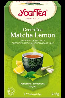 Green Tea Matcha Lemon Yogi Tea organic