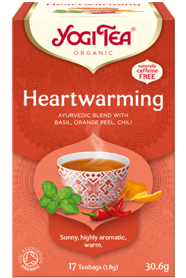 Heartwarming Yogi Tea organic