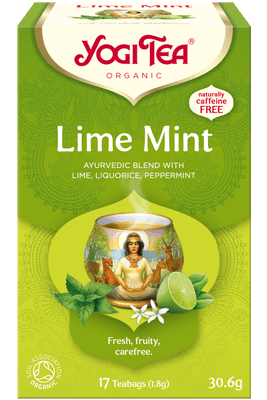 Lime Mint Yogi Tea (Laimi mündi tee)