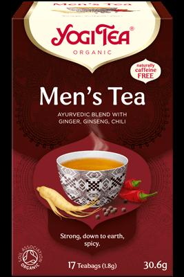 Men's Tea Yogi Tea organic