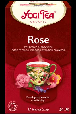 Rose Yogi Tea organic