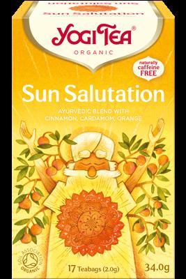 Sun Salutation Yogi Tea organic