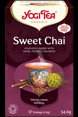 Sweet Chai Yogi Tea organic