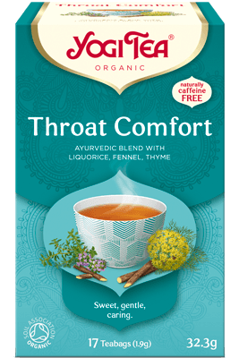 Throat Comfort Yogi Tea (Kurgutee)