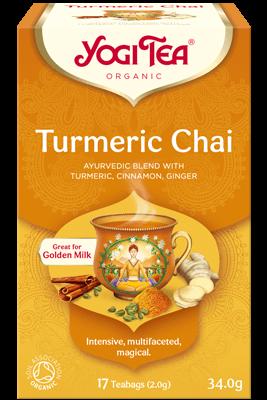 Turmeric Chai Yogi Tea (Kurkumi chai tee)