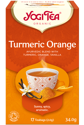 Turmeric Orange Yogi Tea (Kurkumi apelsini tee)