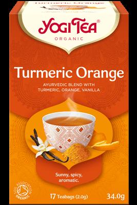 Turmeric Orange Yogi Tea (Kurkumi apelsini tee)