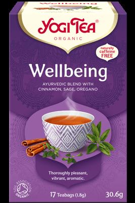 Wellbeing Yogi Tea organic