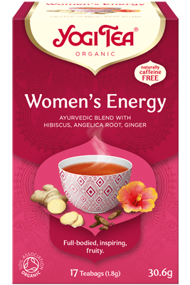 Women's Energy Yogi Tea organic